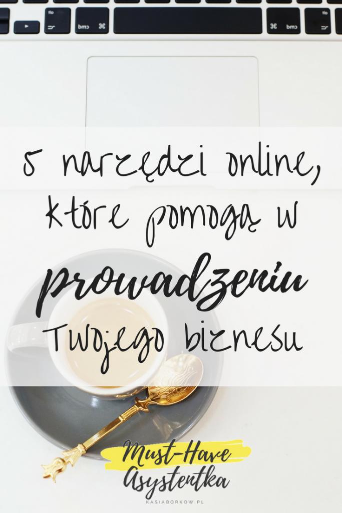 Kasiaborkow wirtualna asystentka must have asystentka 5 narzędzi online, które pomogą w prowadzeniu biznesu online